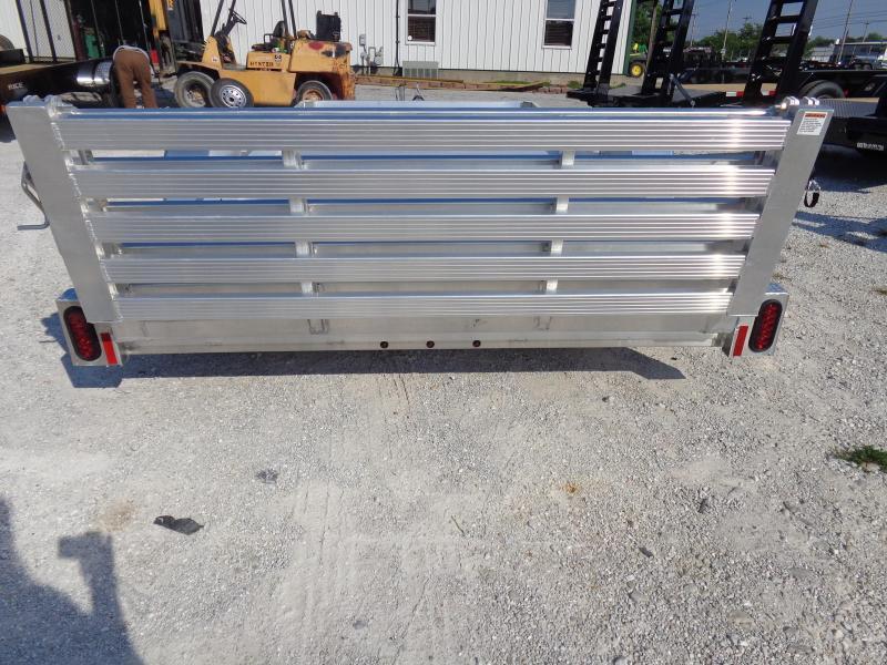 Hillsboro 78 x 12' Bumper Pull Aluminum Utility Trailer