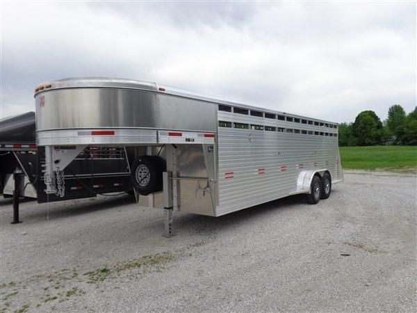 W-W 24' x 7' Bright Line Stockman Gooseneck Stock Trailer (LAST 1 AT THIS PRICE) in Ashburn, VA