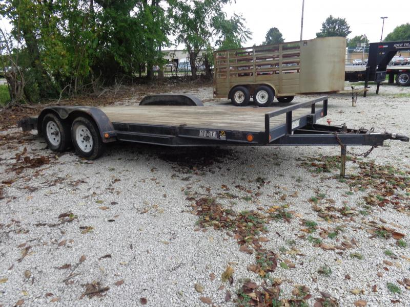 USED 2006 Load Trail 83 x 16+2 Flatbed Trailer