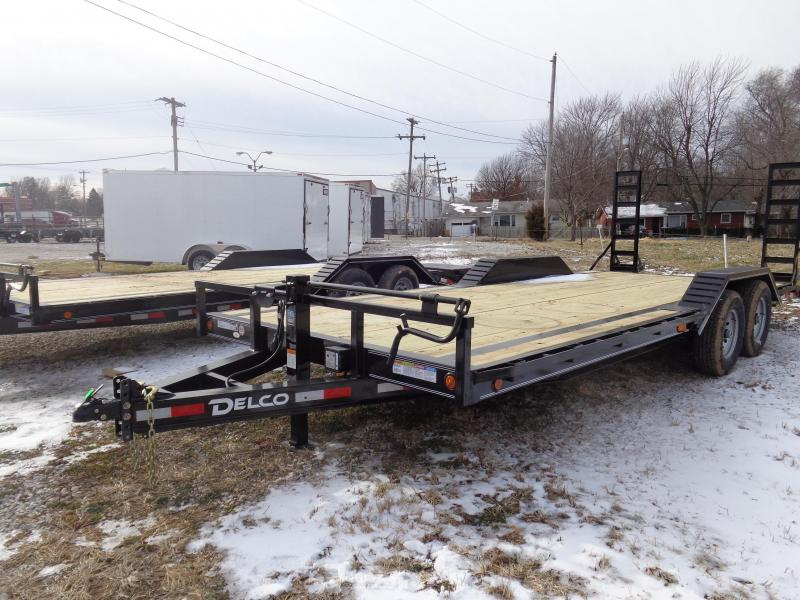 Delco 102 x 20'+2' Dovetail Bumper Pull 14000# Equipment Trailer in Bella Vista, AR