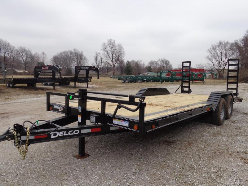 Delco 102 x 20'+2' Dovetail Bumper Pull 14000# Flatbed Trailer in Ashburn, VA