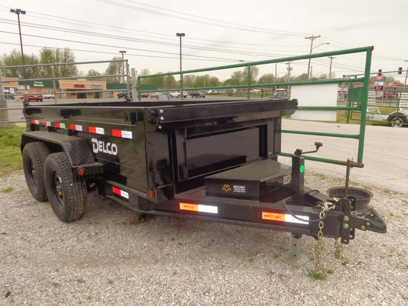 "Delco 60"" x 10' Dump Trailer in Ashburn, VA"