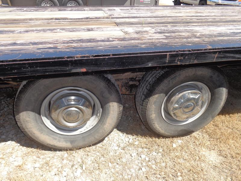 USED 1991 W-W 24' Gooseneck Deckover Equipment Trailer