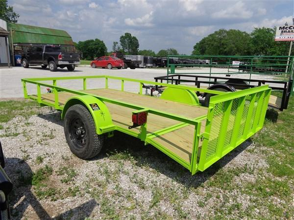 "76"" x 10'+2' Bulldog Lime Green"