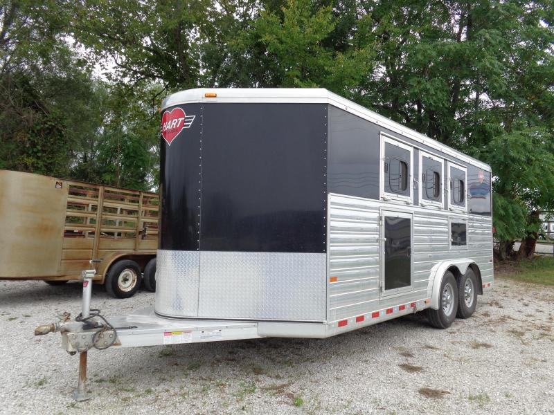 Used 2008 Hart  8 x 20 Bumper Pull 3-Horse Trailer  in Ashburn, VA