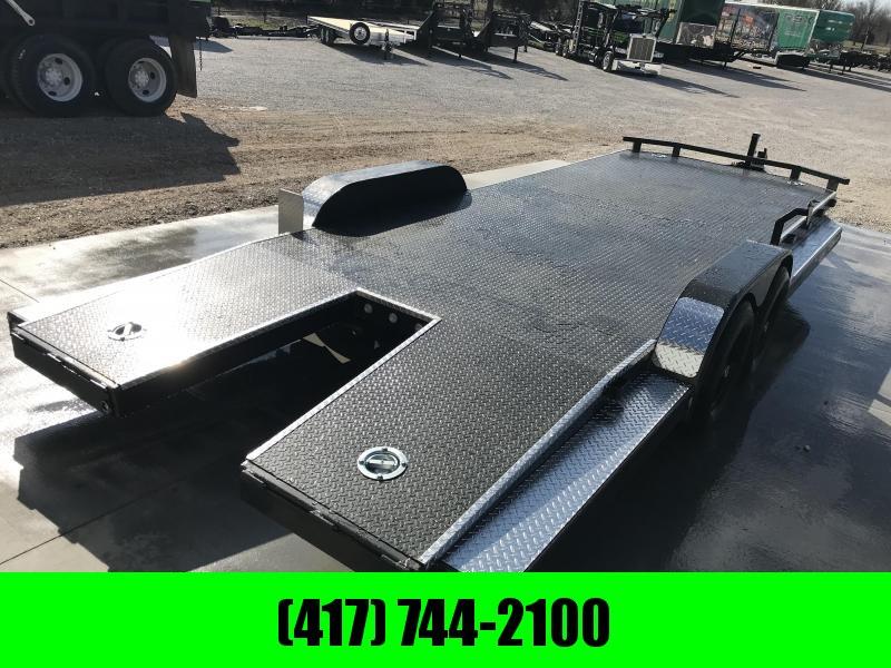 2019 MAXXD 83X22 N5X TUBE SPLIT TAIL 10K CAR HAULER W/TRIM PACKAGE