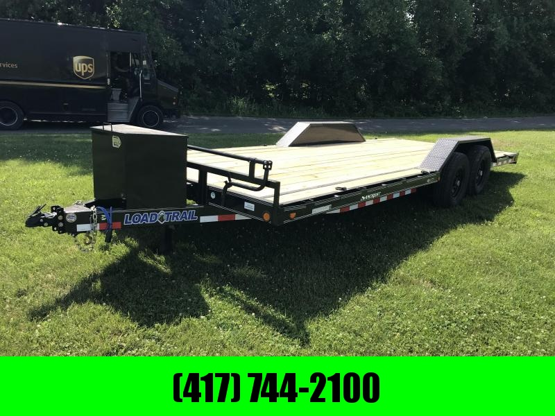 2018 Load Trail 102x22 CAR HAULER w/ tool box and removable tire mount