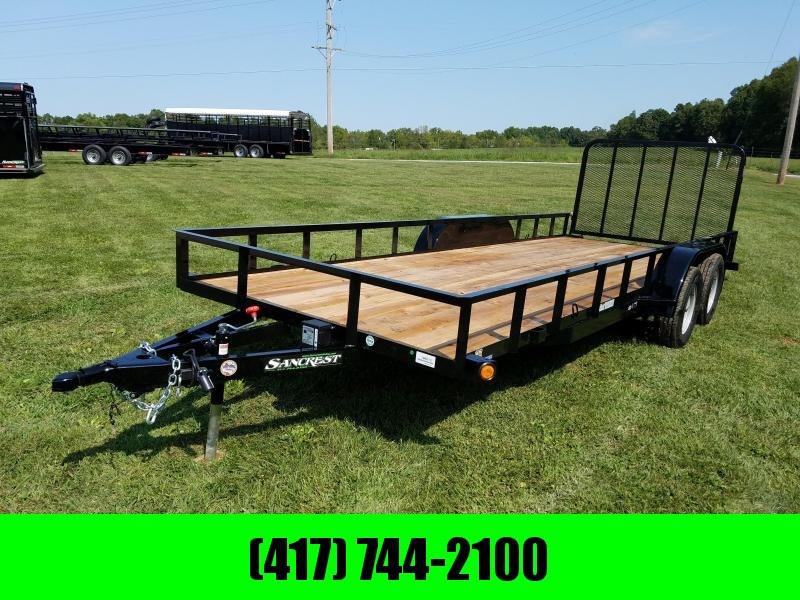 2018 Load Trail 77 X 20 Utility Trailer W/ GATE
