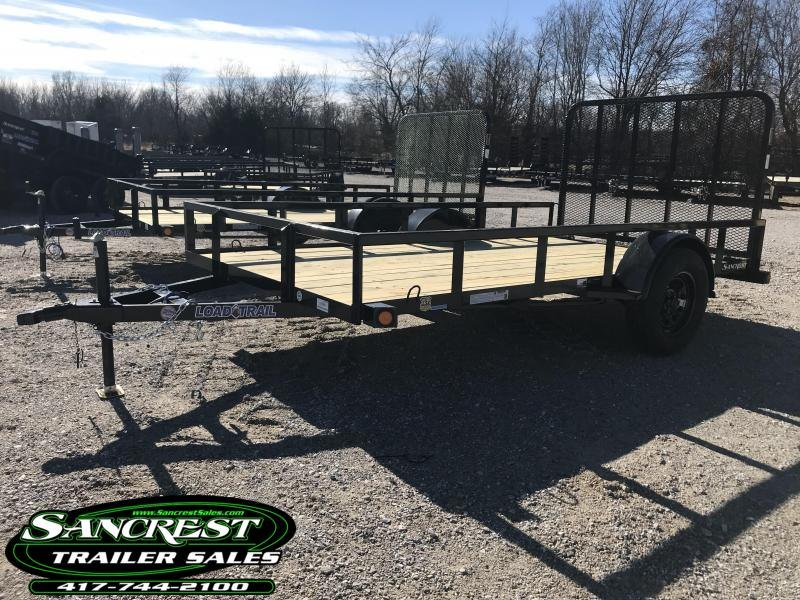 2019 Load Trail 77x12 tube top Utility Trailer w/4' tube gate and spring latches