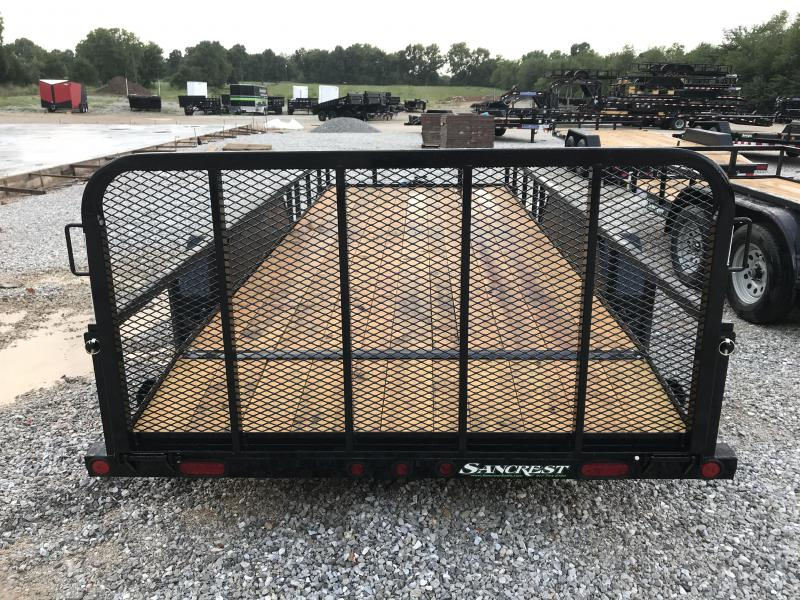 2019 Load Trail 77X18 TANDEM AXLE UTILITY W/3500 AXLES/2' DOVE TAIL/3'FOLD GATE