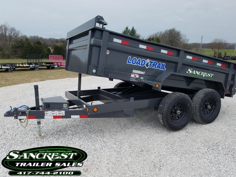 "2018 Load Trail 72"" x 12' Tandem Axle Dump Trailer in Brandsville, MO"