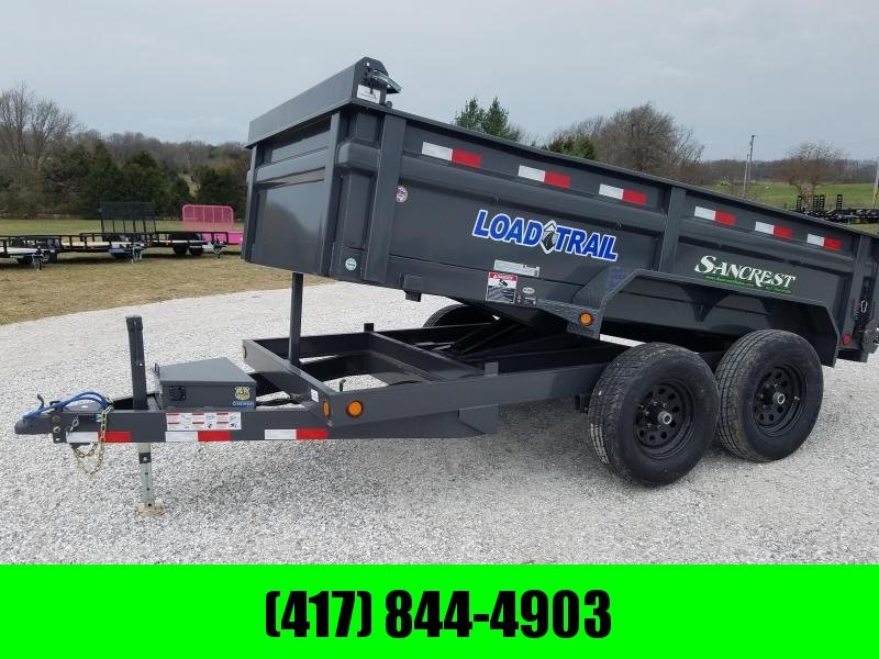 "2018 Load Trail 72"" x 12' Tandem Axle Dump Trailer"