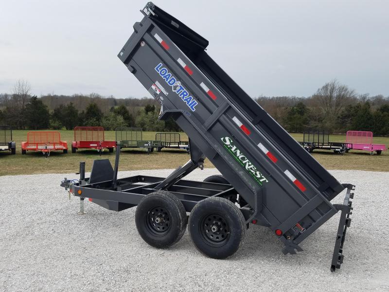 """2018 Load Trail 72"""" x 12' Tandem Axle Dump Trailer"""