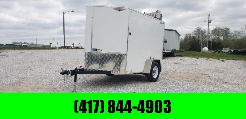 2019 H and H Trailer 5 X 8 CARGO TRAILER