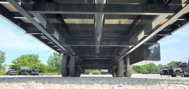 2019 Load Trail 102X32 TANDEM LO-PRO GOOSENECK W/10K AXLES 10' HYDROTAIL HYDROJACKS