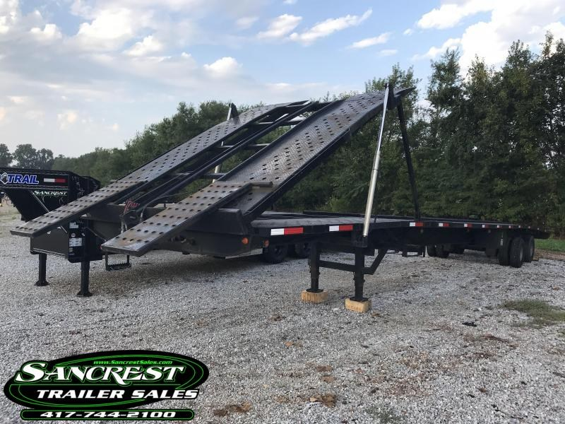 2014 Take 3 Trailers PRO AIR W/TILT 4 CAR HAULER w/ air ride