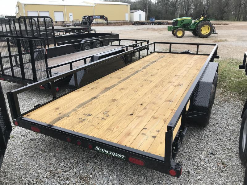 2018 Load Trail 77x18 Tandem Utility Trailer