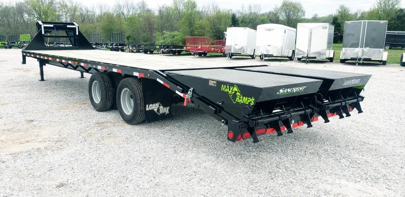 2019 Load Trail 102x32 GOOSENECK  Trailer Std. Height w/10k axles and Max Ramps