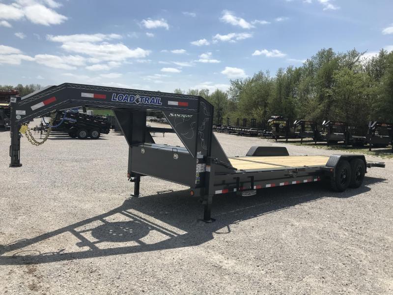 2019 Load Trail 83x24(16+8) TANDEM TILT-N-GO GOOSENECK CAR HAULER W/7K AXLES