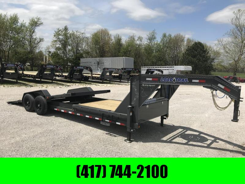 2019 Load Trail 83x24(16+8) TANDEM TILT-N-GO GOOSENECK CAR HAULER W/7K AXLES in Omaha, AR