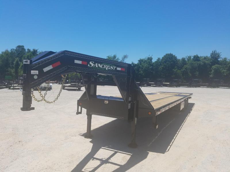 "2017 102"" X 36' 10K AXLES Low-Pro Gooseneck Hyd. Dove Tail ( BLACK )"