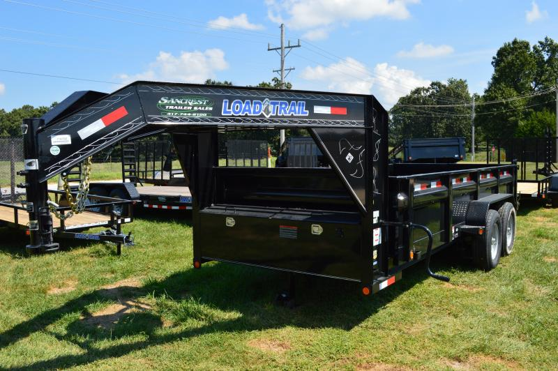 2017 Load Trail GV16 LOW PRO GOOSENECK Dump Trailer
