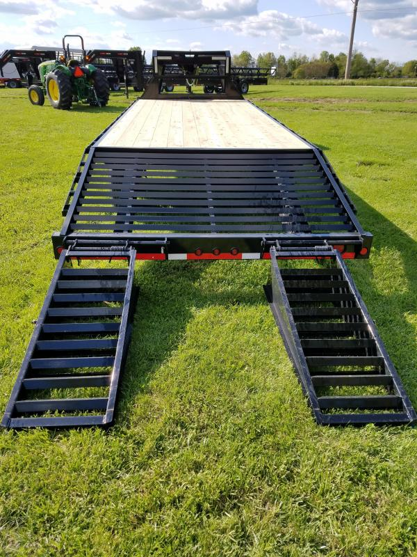 how to make flip ramps on utility trailer