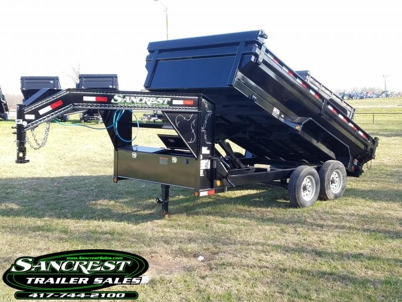 2018 Load Trail DUMP TRAILER KING BED in Brandsville, MO