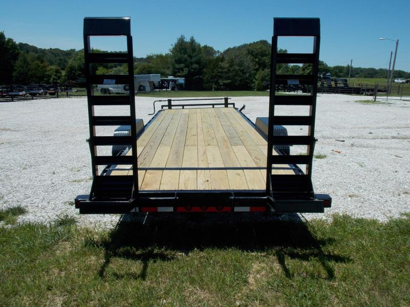 2019 LOAD TRAIL 83 X 24 EQUIPMENT TRAILER W/ 7KS