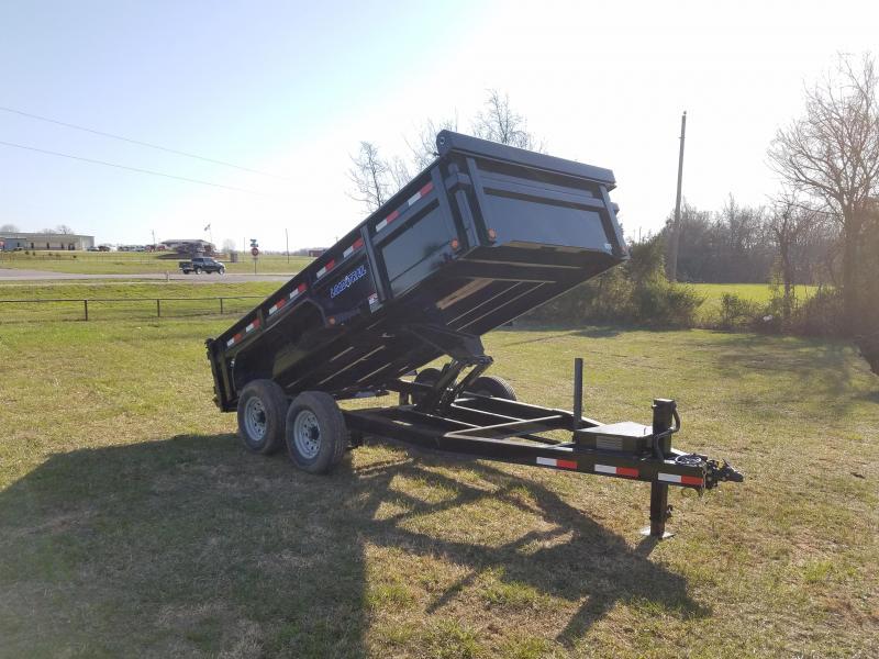 2018 Load Trail Dump Trailer W/SIDE DOOR!