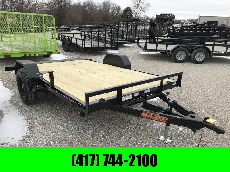2019 MAXXD 77X12 GRAVITY TILT  Utility Trailer W/KNIFE EDGE