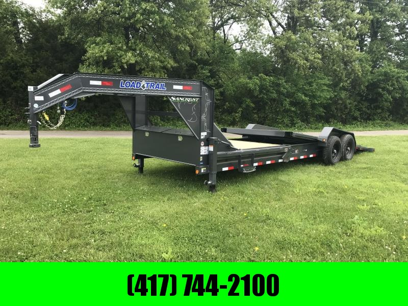 2018 Load Trail 83x24 TILT-N-GO gooseneck Trailer(GRAY)
