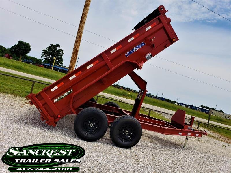 "2018 Load Trail 72"" x 12' Tandem Axle Dump in Brandsville, MO"