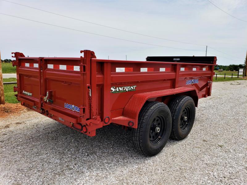 """2018 Load Trail 72"""" x 12' Tandem Axle Dump"""