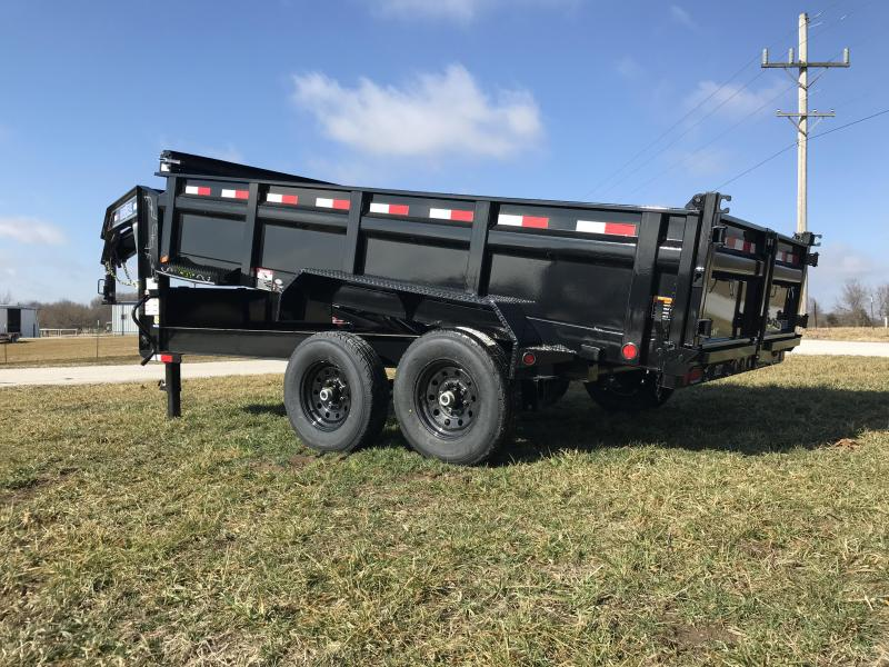 2019 Load Trail 83x14 TANDEM GOOSENECK Dump Trailer W/7K AXLES