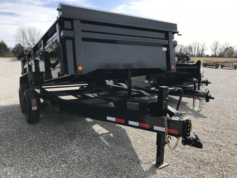 2019 Load Trail 83x14 TANDEM Dump Trailer W/7K AXLES