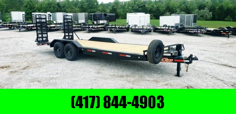 "2019 MAXXD 102 X 22 6"" CHANNEL BUGGY HAULER W/ 7Ks in Norfork, AR"