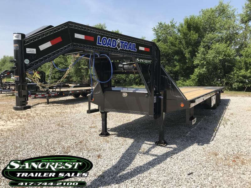 2018 Load Trail 102x34 GOOSENECK TRAILER w/ HYDROTAIL(BLACKWOOD) AND WINCH