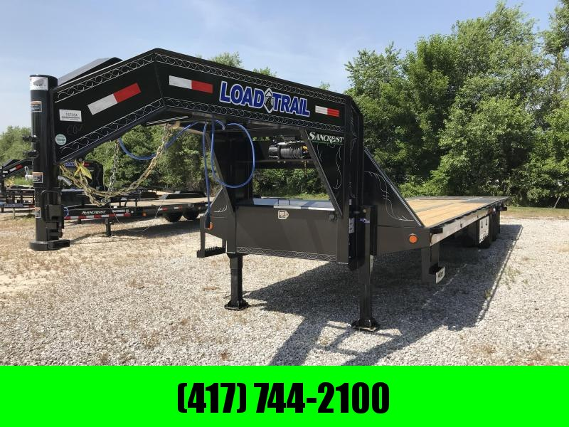 2018 Load Trail 102x34 GOOSENECK TRAILER w/ HYDROTAIL(BLACKWOOD) AND WINCH