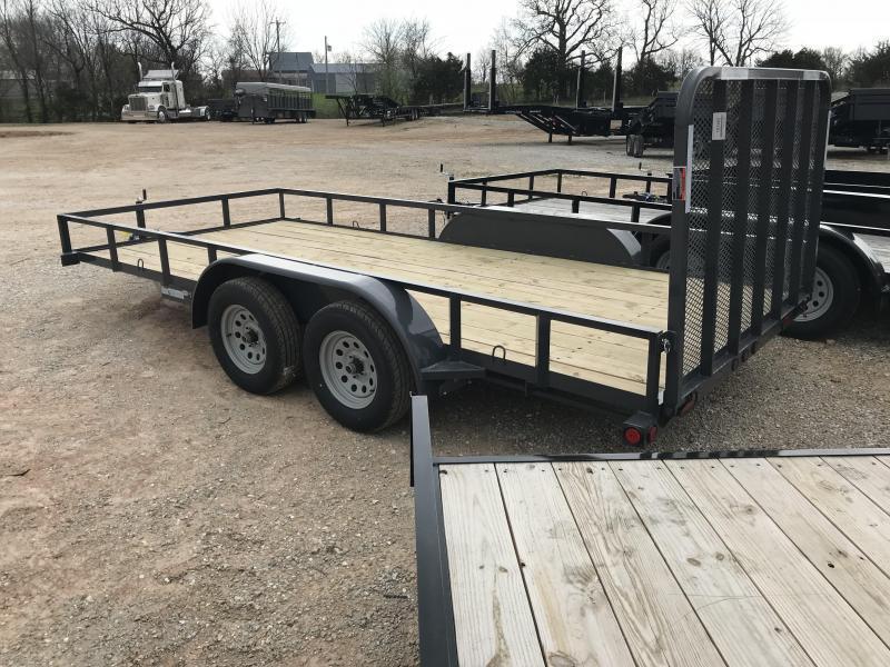 2018 Load Trail 83x16 Tandem Utility Trailer
