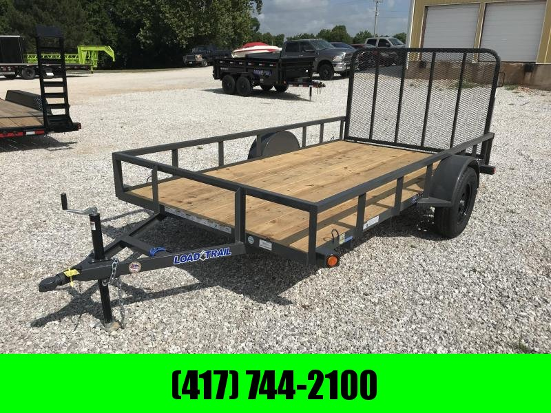 2018 Load Trail 77X12 GRAY Utility Trailer in Ashburn, VA