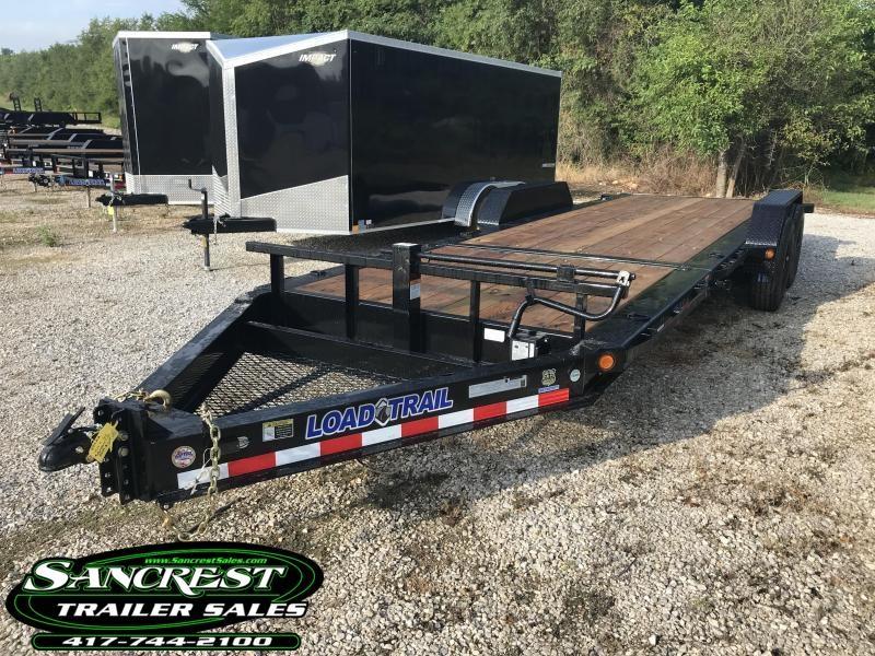 2019 Load Trail 83X22 TILT-N-GO Equipment Trailer W/14 PLY TIRES