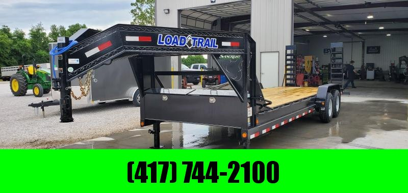 2019 Load Trail 83X24 TANDEM GOOSENECK CARHAULER W/ STAND UP RAMPS in Bella Vista, AR
