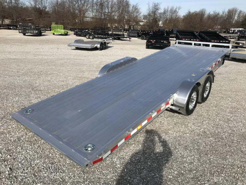 2019 H&H ALUMINUM 82X22 10K HYDRAULIC SPEEDLOADER EX W/5200 AXLES AND EXTRUDED DECK