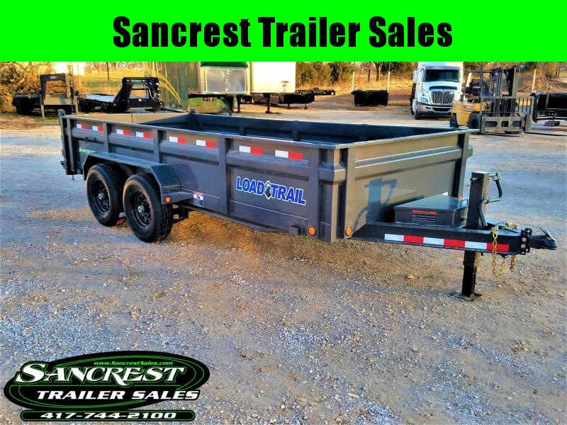 2018 Load Trail  Dump Trailer 83 X 16 LOW-PRO