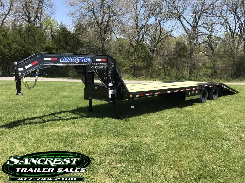 2018 Load Trail 102X32 LOW-PRO GOOSENECK Trailer w/HYDRO TAIL/JACKS