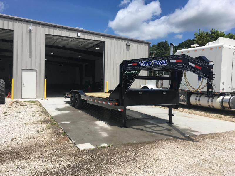 2019 Load Trail GOOSENECK CARHAULER Flatbed Trailer