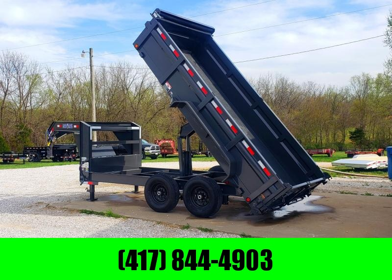 "2019 Load Trail 83"" x 14' Tandem Axle Gooseneck Dump"