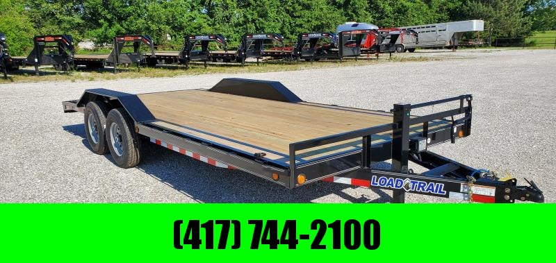 2019 LOAD TRAIL 102X20(18+2) TANDEM 14K CAR HAULER W/SLIDE OUT RAMPS in Lowell, AR