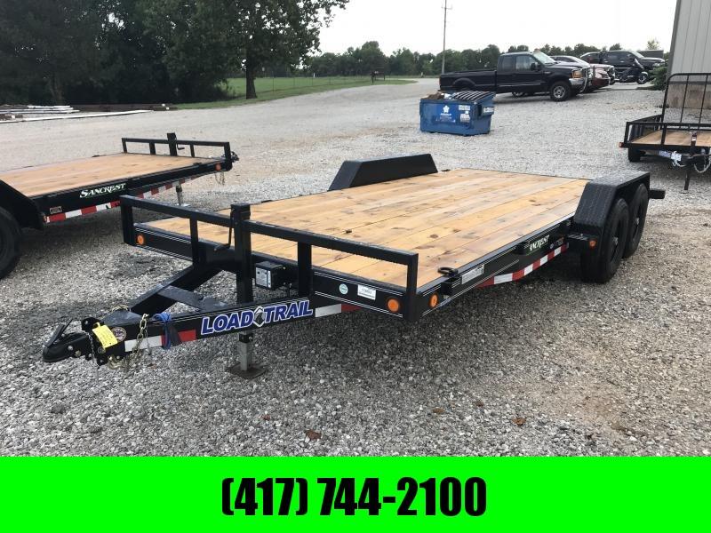 2019 Load Trail 83X18 TANDEM AXLE CAR HAULER W/5200 AXLES